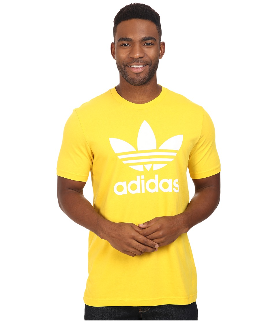 adidas Originals - Originals Trefoil Tee (EQT Yellow/White) Men's T Shirt