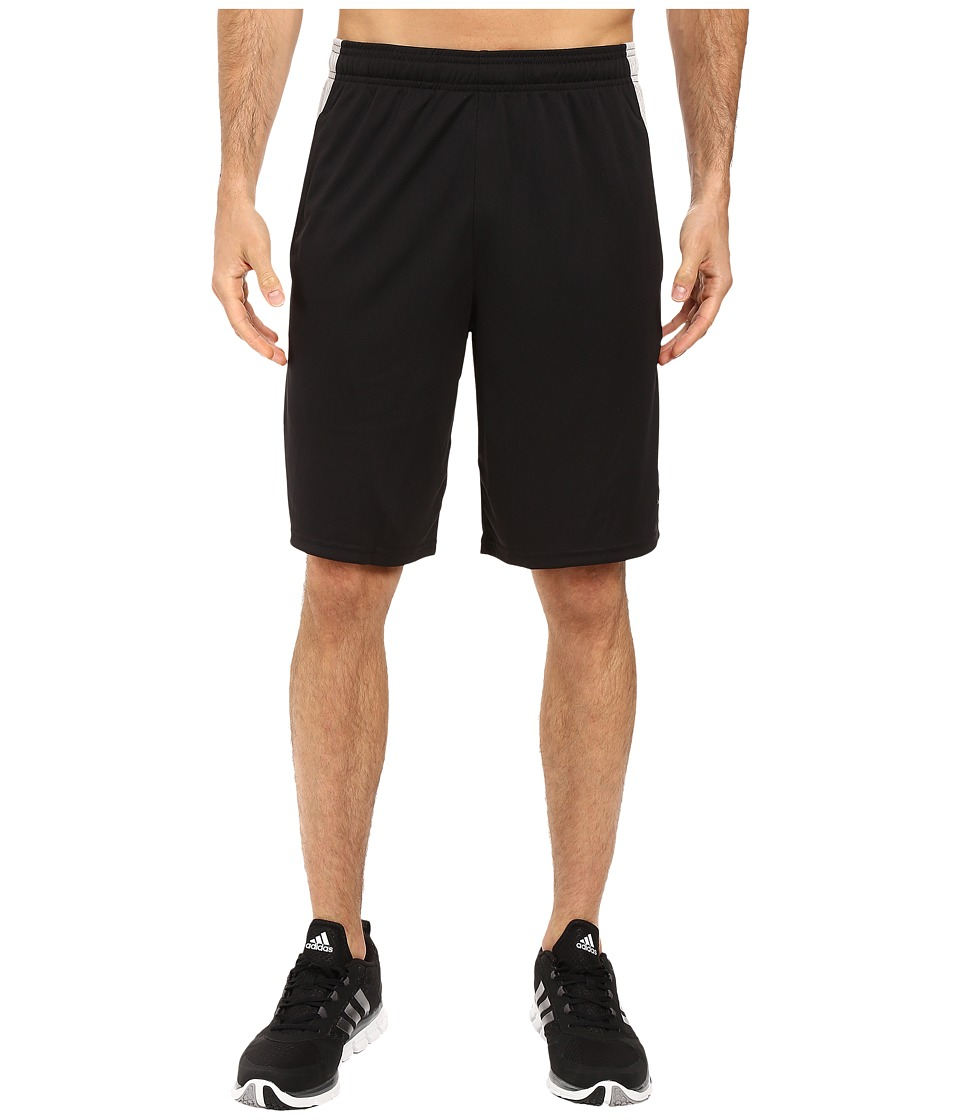 adidas Aeroknit Decoy Burnout Shorts (Black/MGH Solid Grey) Men