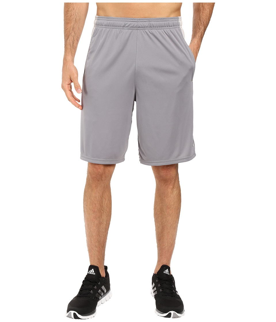 adidas - Aeroknit Decoy Burnout Shorts (Grey/MGH Solid Grey) Men's Shorts