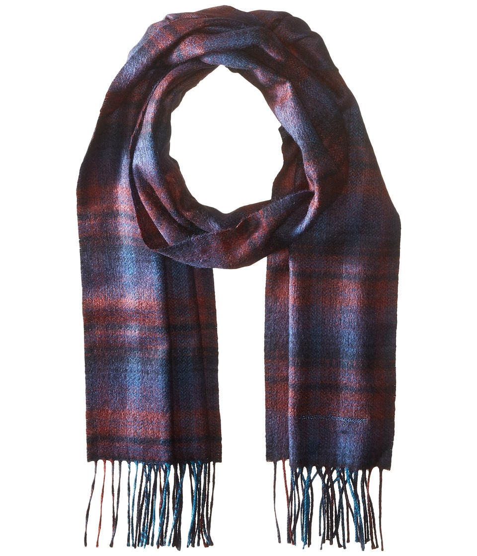 Salvatore Ferragamo - Sr Back Scarf - 526553 (Bordeaux) Scarves