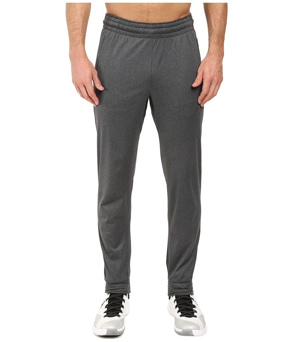 Nike - Elite Basketball Pant (Charcoal Heather/Cool Grey/Black/Iridescent) Men's Casual Pants