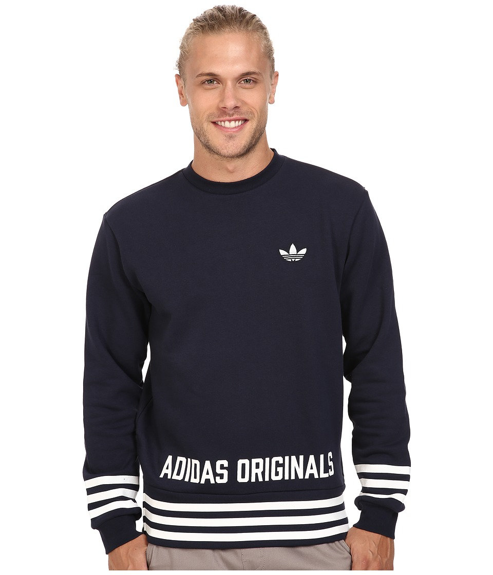 adidas Originals - Street Graphic Crew (Legend Ink) Men's Sweatshirt