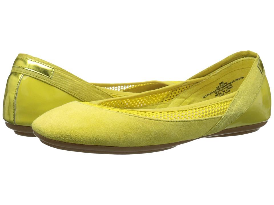 Easy Spirit - Yughe (Yellow Multi) Women's Shoes