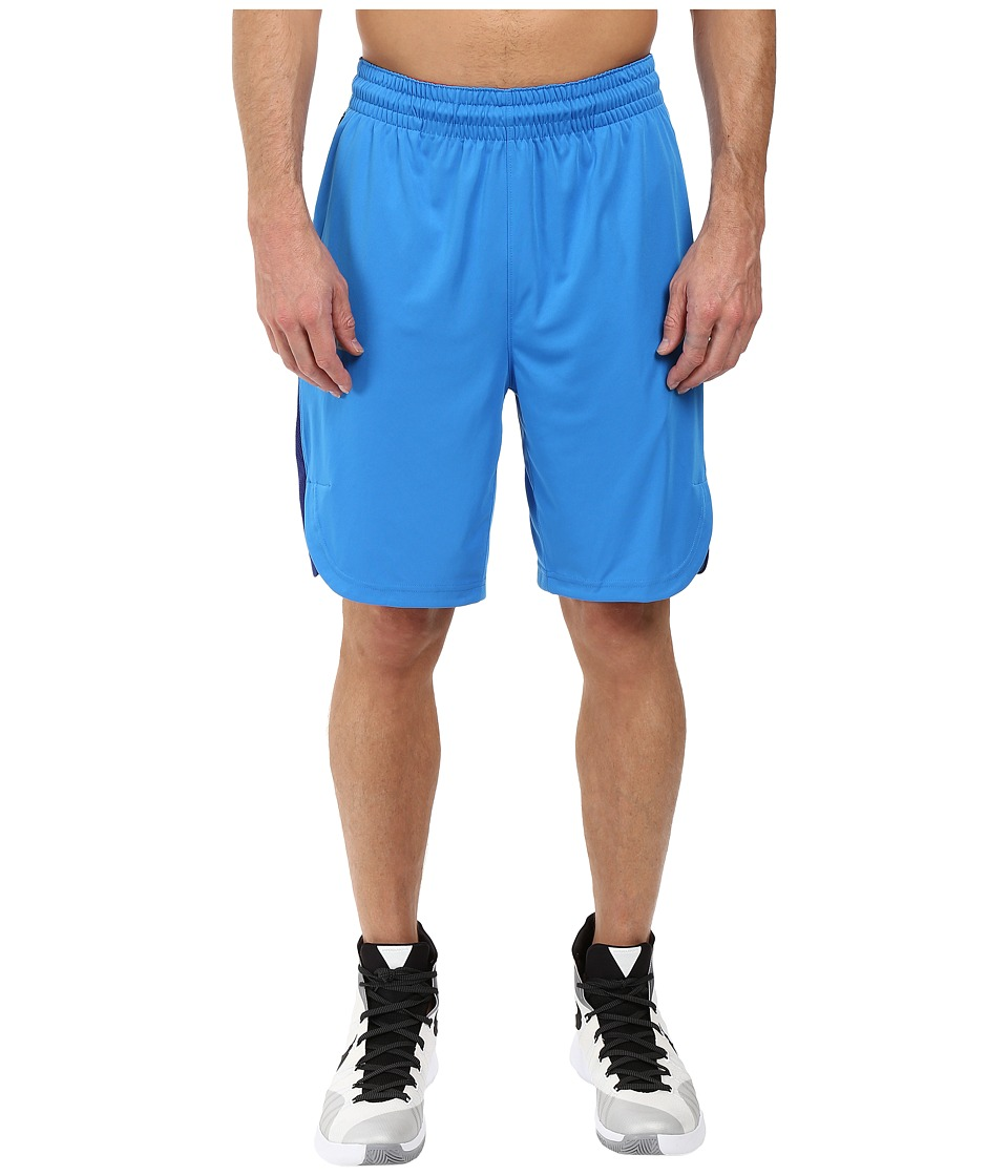 Nike Elite Basketball Short (Light Photo Blue/Deep Royal Blue/Light Crimson/Matte Silver) Men