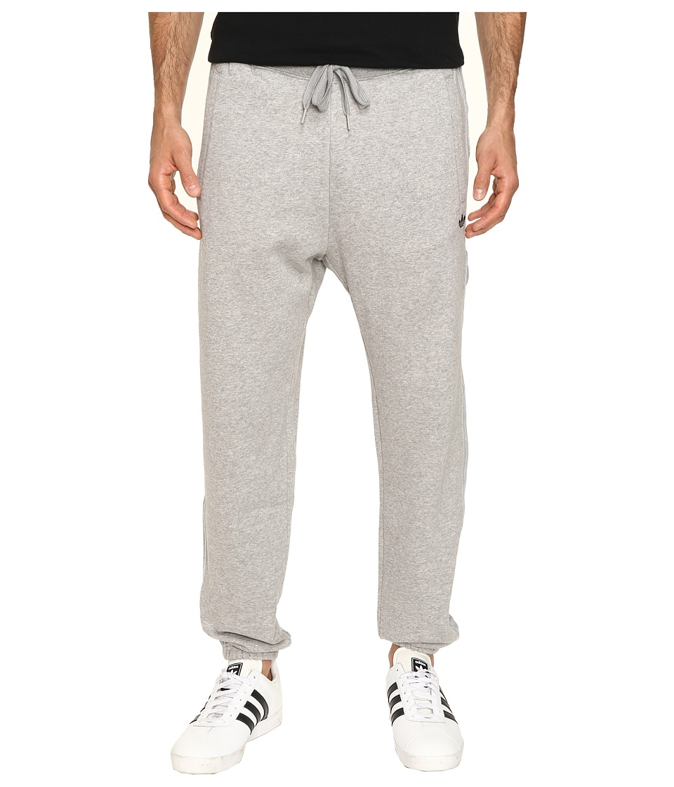 adidas Originals - Classic Trefoil Sweatpants (Medium Grey Heather) Men's Casual Pants