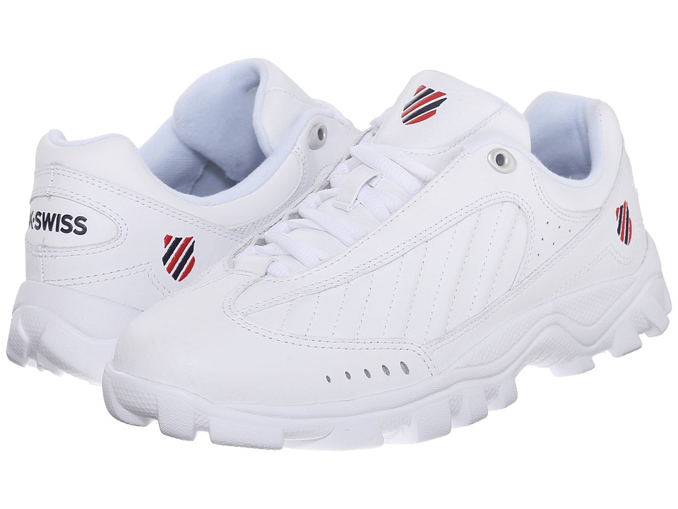 K-Swiss - ST 429 (White/Red/Navy) Women's Shoes