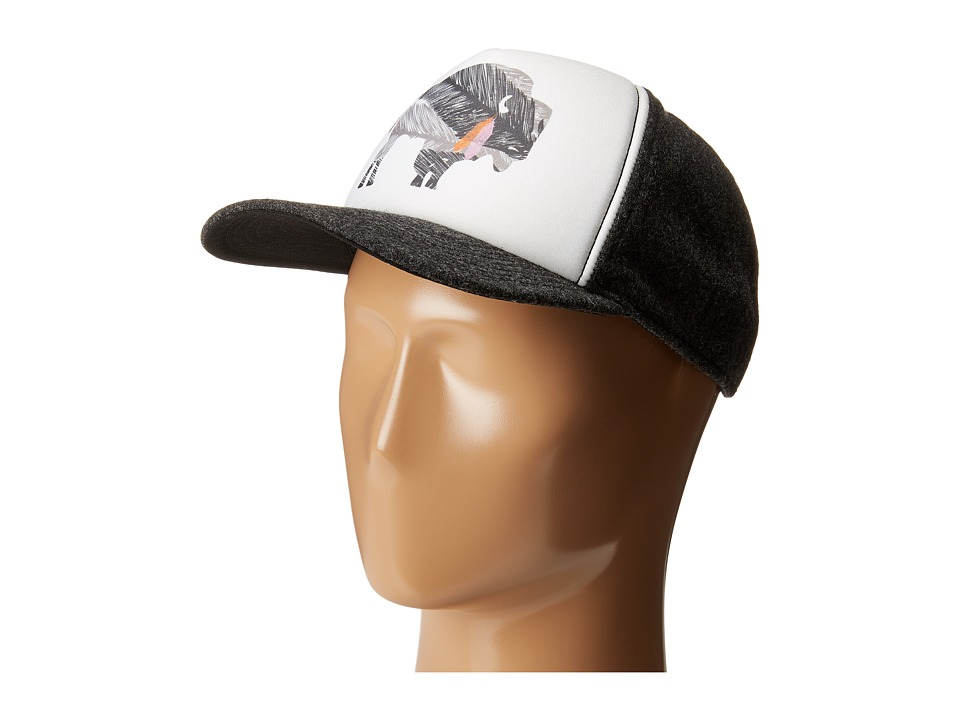 Pistil - Georgie (Charcoal) Caps