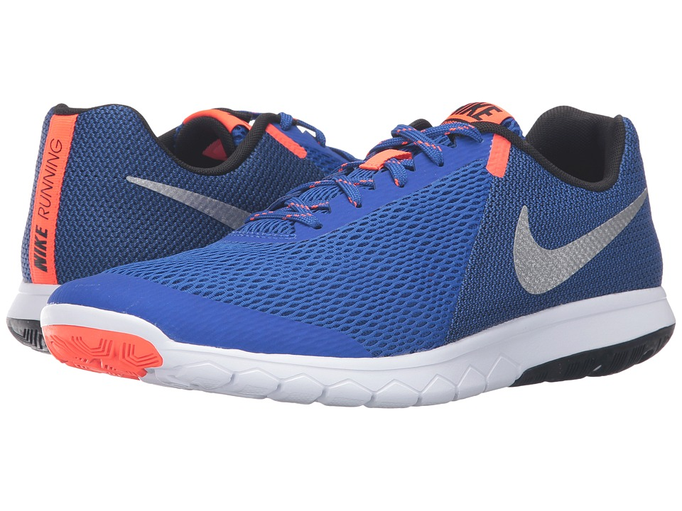 Nike - Flex Experience RN 5 (Racer Blue/Metallic Silver/Black/White) Men's Running Shoes