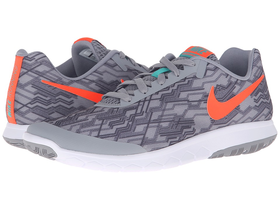 Nike - Flex Experience RN 5 Premium (Stealth/Total Crimson/Black/Clear Jade) Men's Running Shoes