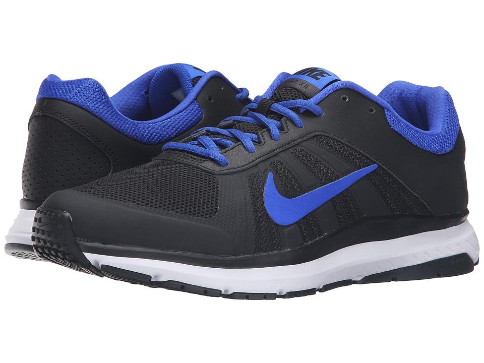Nike - Dart 12 (Black/Racer Blue/Anthracite/White) Men's Running Shoes