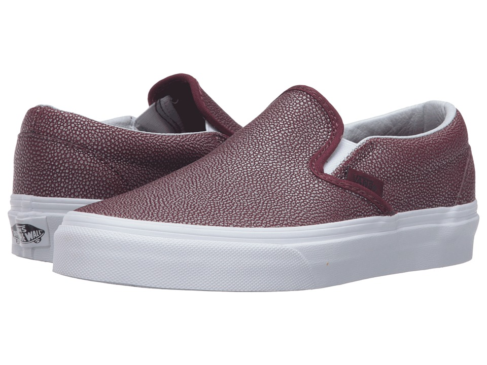Vans - Classic Slip-On ((Embossed Stingray) Port Royale) Skate Shoes
