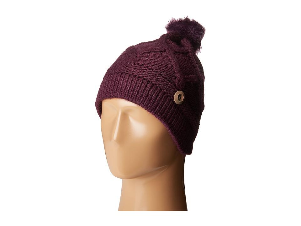 Pistil - Cate (Eggplant) Knit Hats