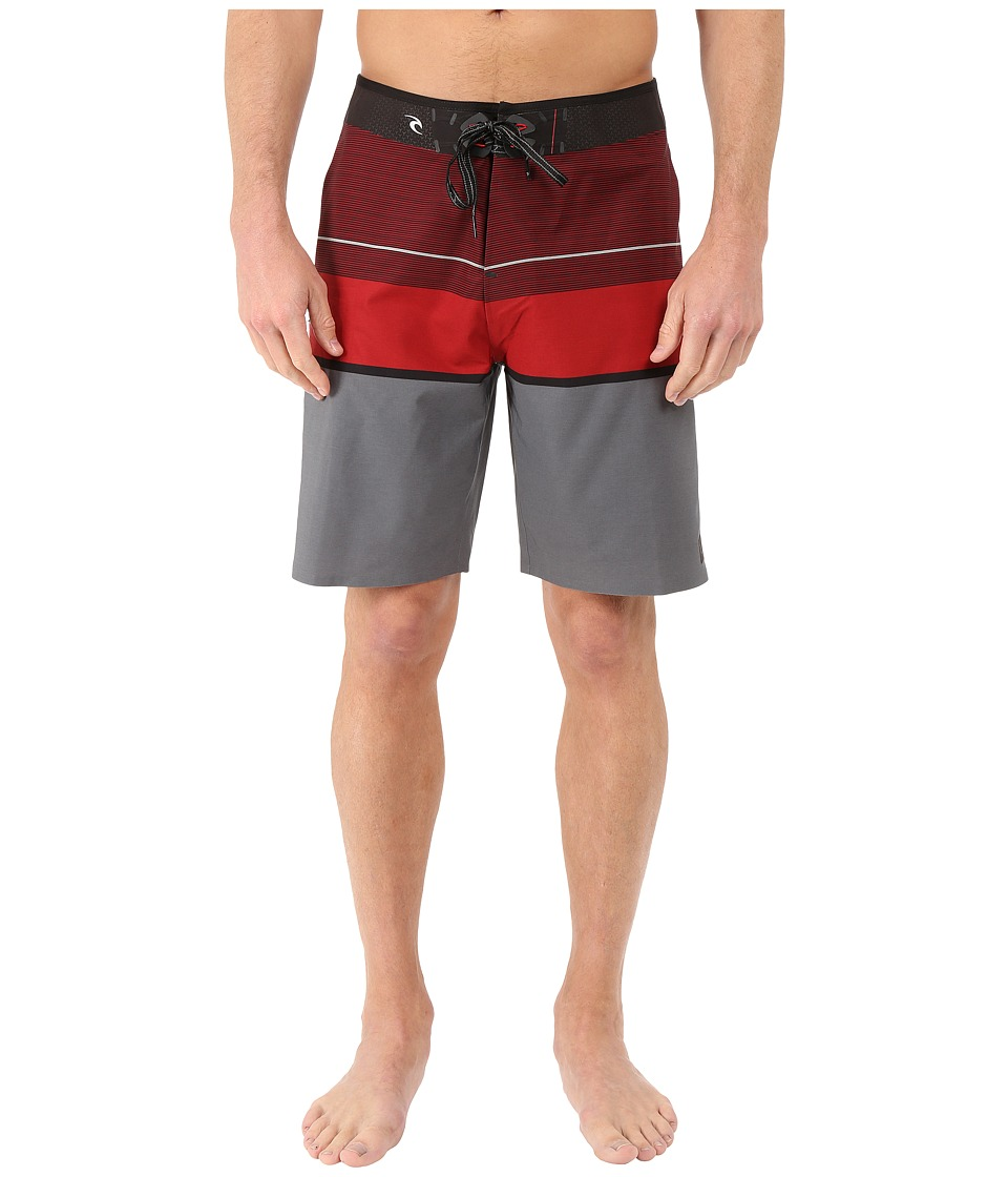 Rip Curl - Mirage Focus Boardshorts (Red) Men's Swimwear