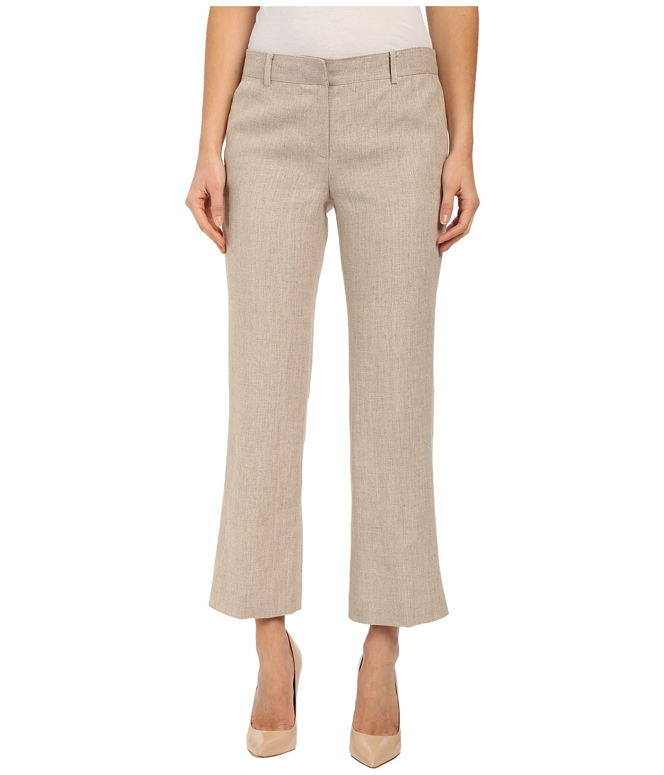 MICHAEL Michael Kors - Stretch Vintage Flare Trousers (Hemp) Women's Casual Pants