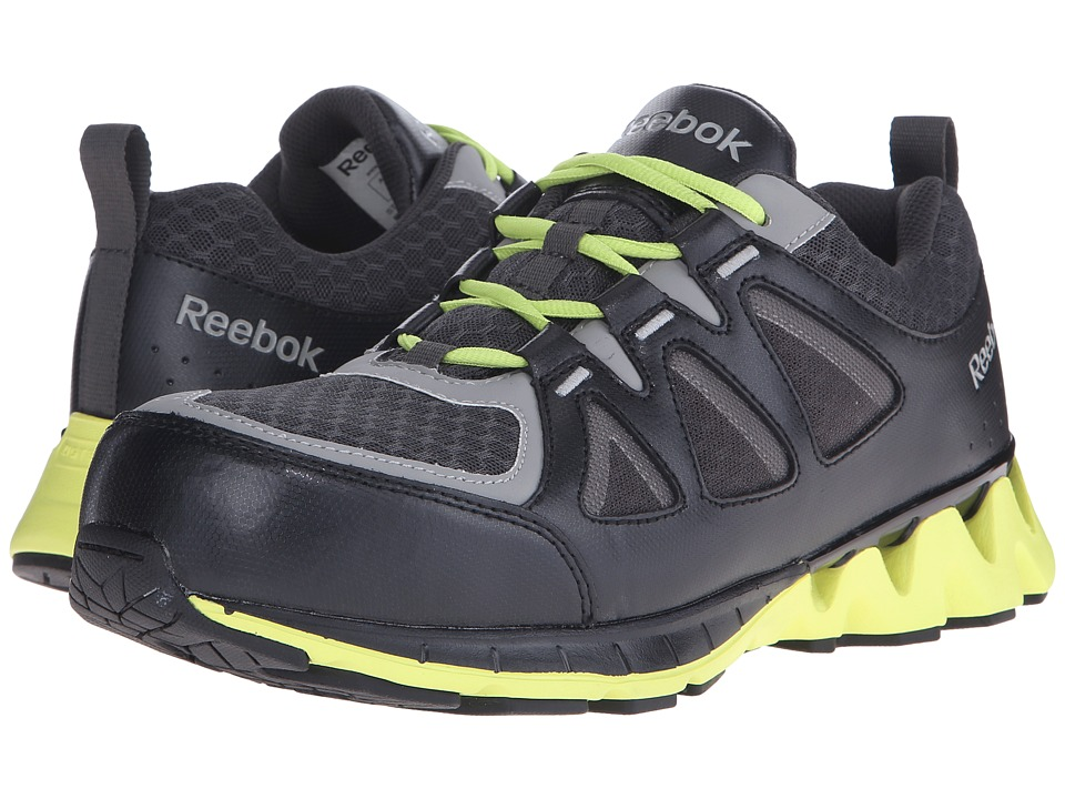 Reebok Work - Zigkick Work (Black/Yellow) Men's Work Boots