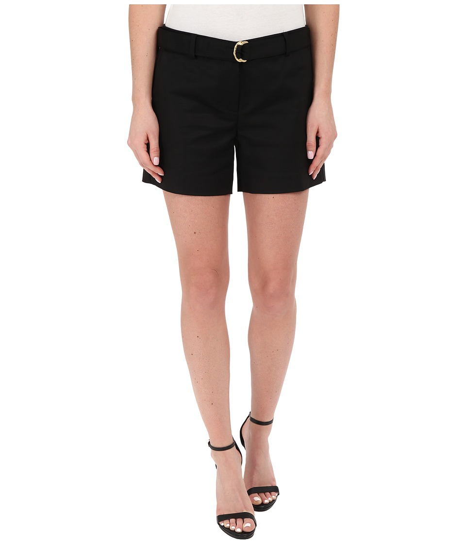 MICHAEL Michael Kors - Midi Shorts (Black) Women's Shorts