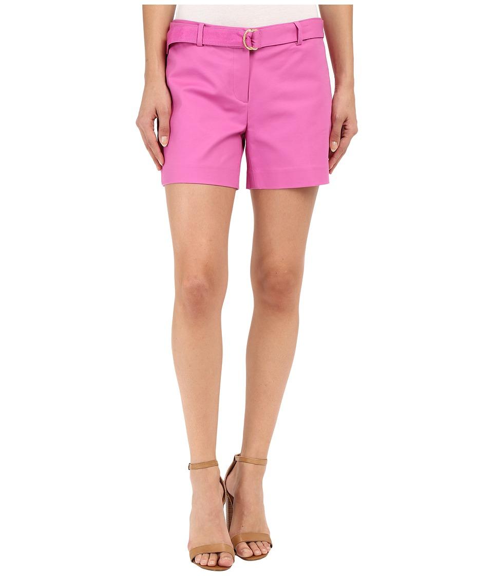 MICHAEL Michael Kors - Midi Shorts (Plum Blossom) Women's Shorts