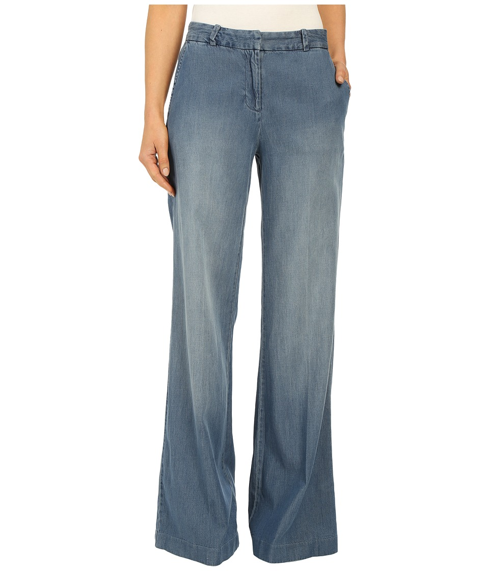 MICHAEL Michael Kors - Denim Soft Wide Leg in Veruschka Wash (Veruschka Wash) Women's Jeans