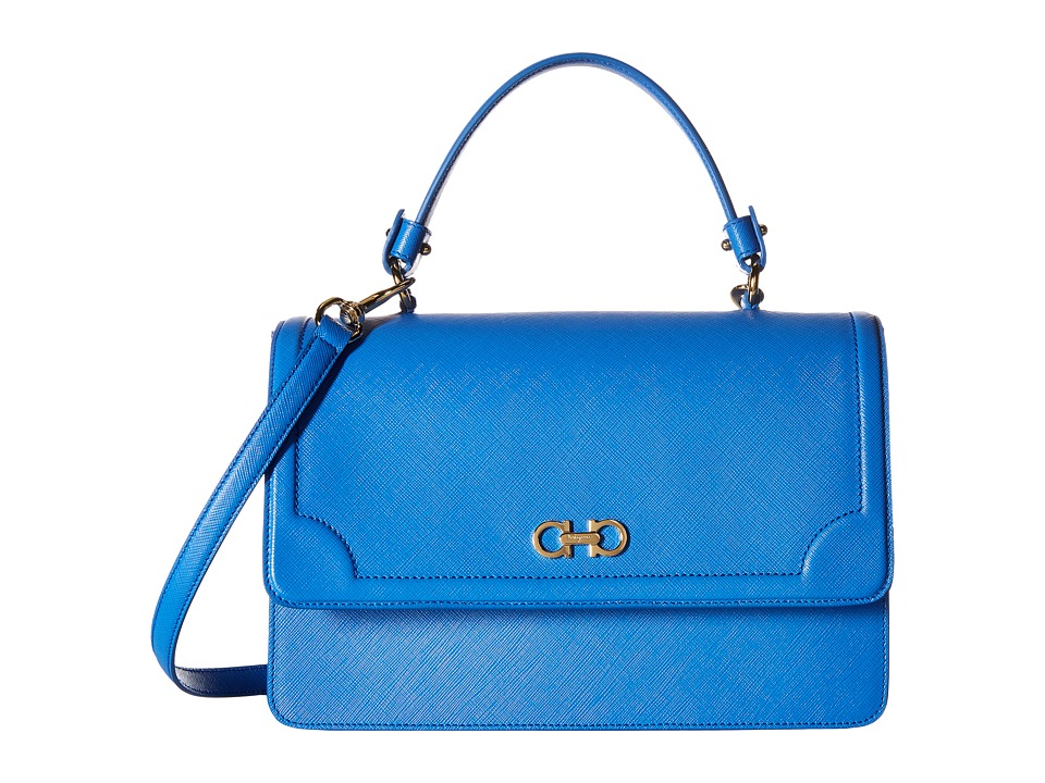 Salvatore Ferragamo - Seila (Bleu Indien) Handbags