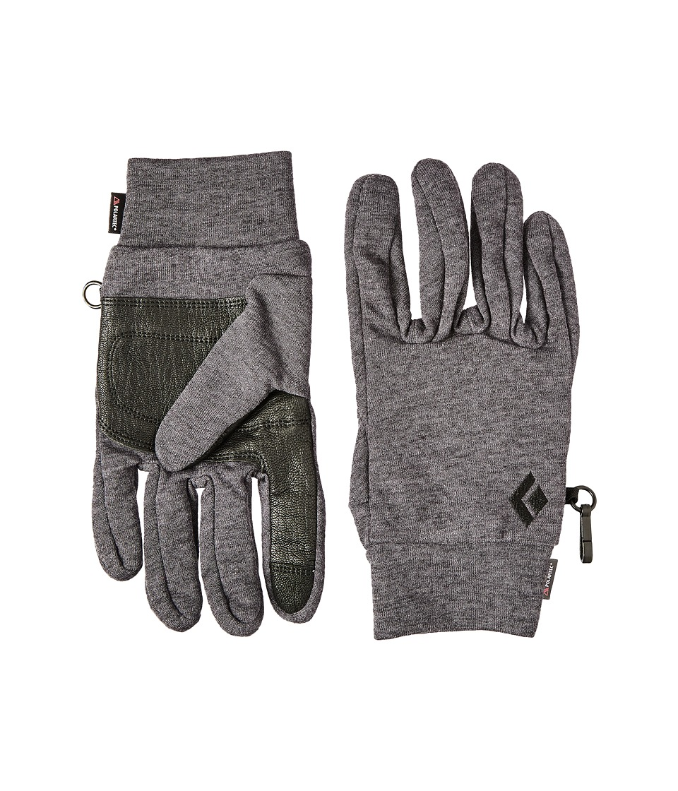 Black Diamond - MidWeight WoolTech Gloves (Slate) Outdoor Sports Equipment