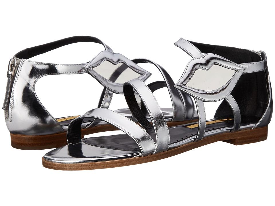Rupert Sanderson - Pukatea (Silver Calf/PVC) Women's Shoes