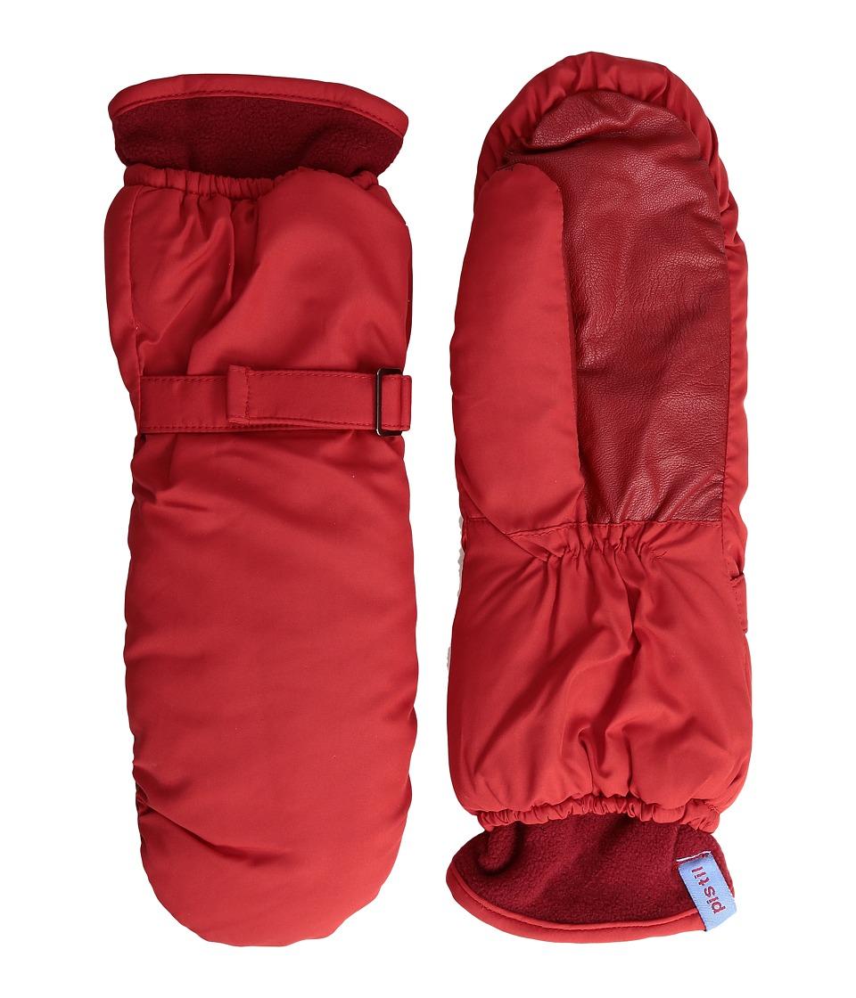 Pistil - Butter Mitten (Red) Wool Gloves