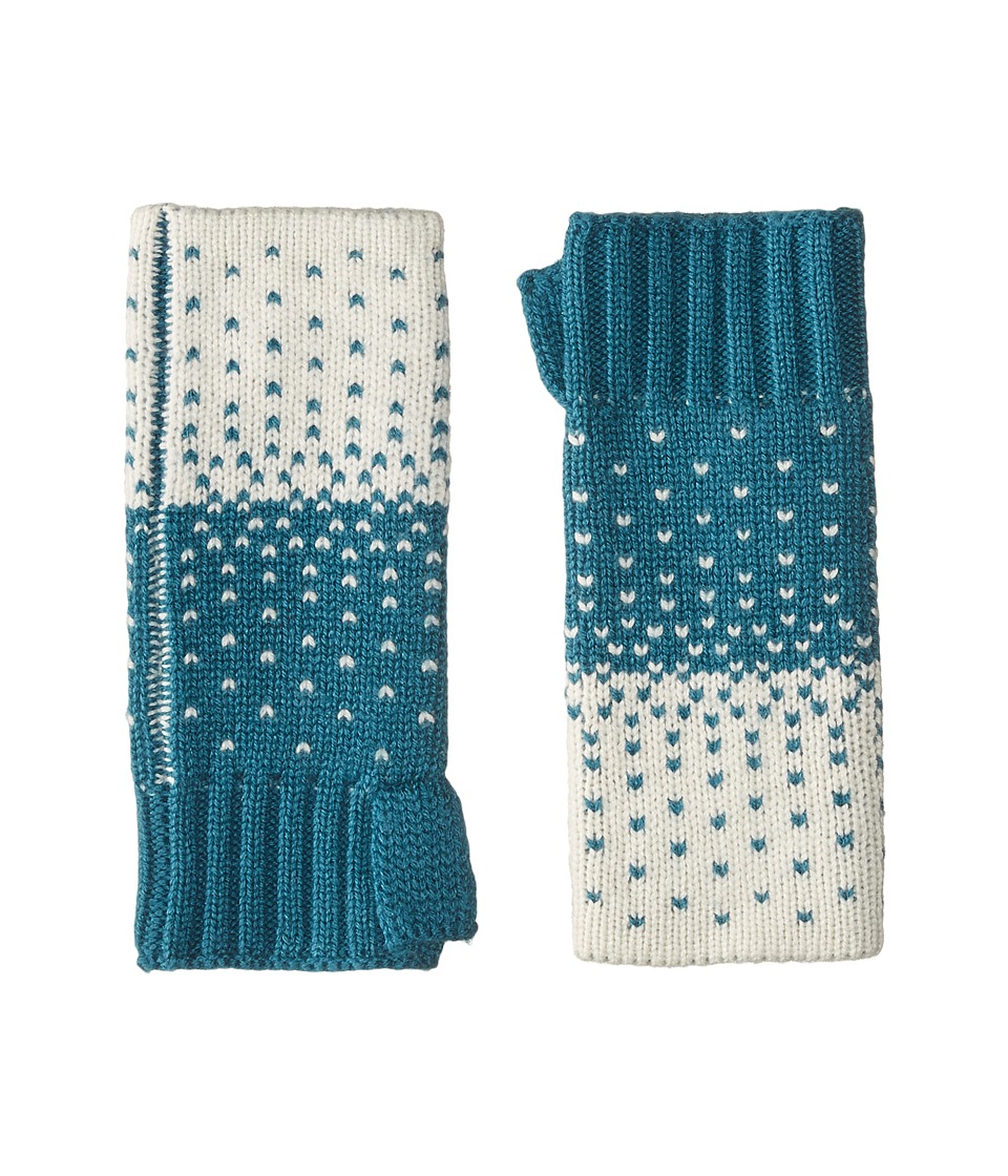 Pistil Mindee Wristlet (Teal) Wool Gloves