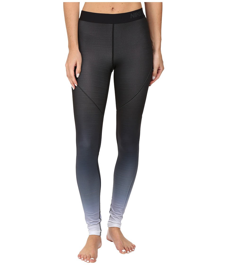Nike - Pro Hyperwarm Training Tight (Black/White/White) Women's Workout