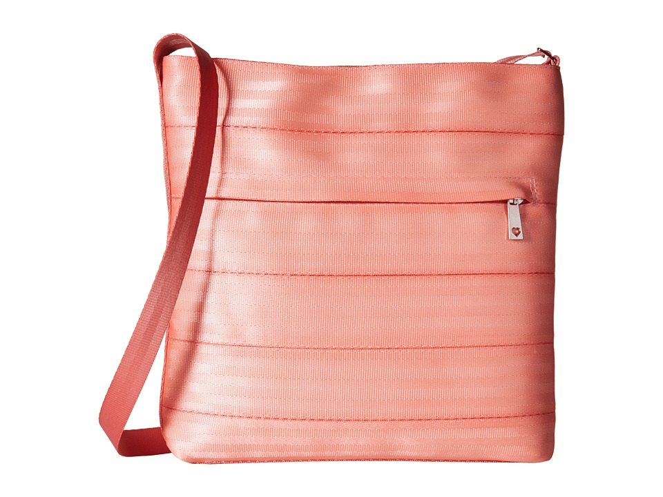 Harveys Seatbelt Bag - Streamline Crossbody (Coral) Cross Body Handbags