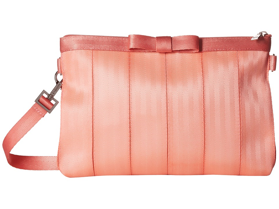 Harveys Seatbelt Bag - Bow Clutch (Coral) Clutch Handbags