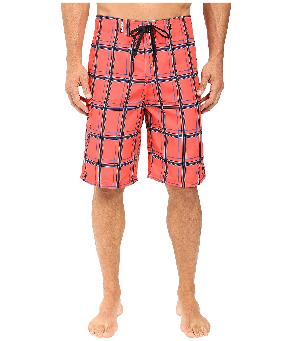 Hurley - Puerto Rico Boardshort (Bright Crimson) Men's Swimwear