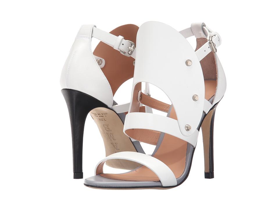 L.A.M.B. - Gareth (White) High Heels