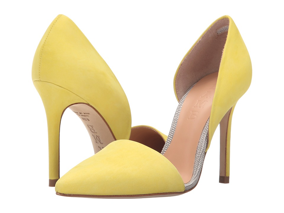 L.A.M.B. Gaspar (Yellow) High Heels