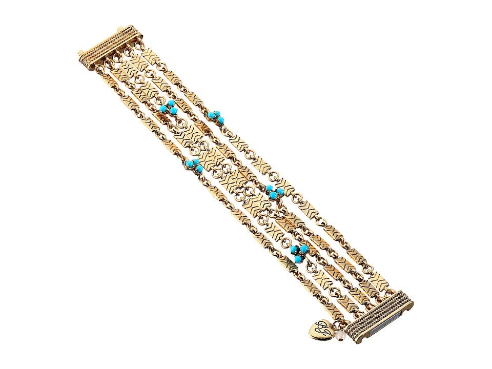 Betsey Johnson - Turquoise Magnetic Bracelet (Turquoise) Bracelet