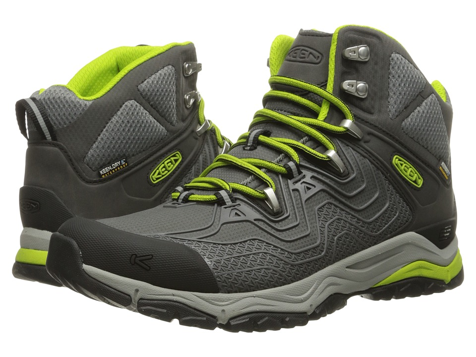 Keen - Aphlex Mid Waterproof (Gargoyle/Macaw) Men's Waterproof Boots