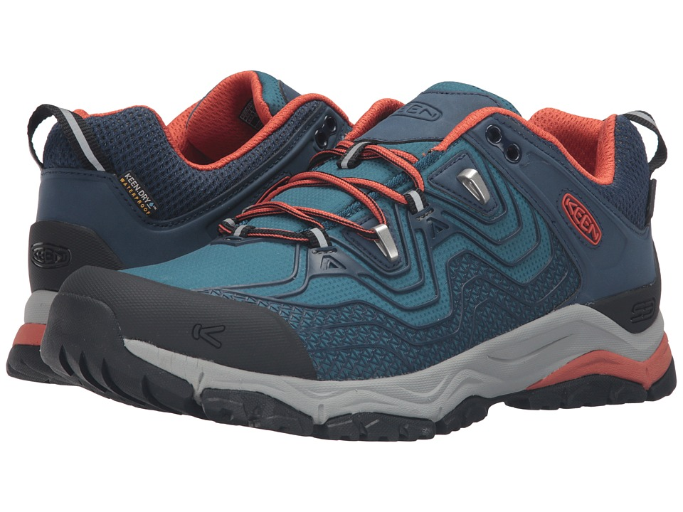 Keen Aphlex Waterproof (Dress Blue/Burnt Orchre) Men
