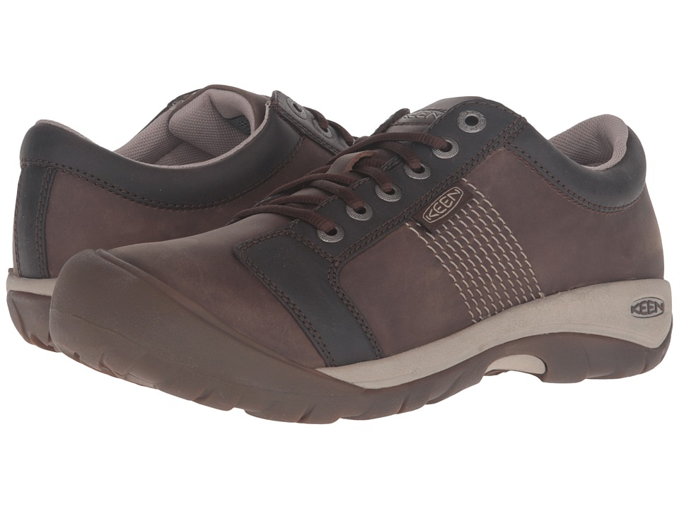 Keen - Austin (Cascade Brown/Goat) Men's Shoes