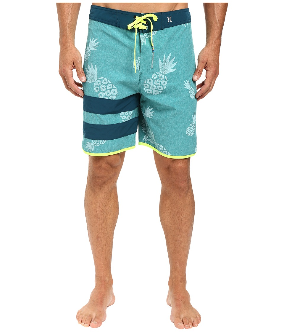 Hurley - Phantom Party Pina 19 Boardshorts (Rio Teal) Men's Swimwear