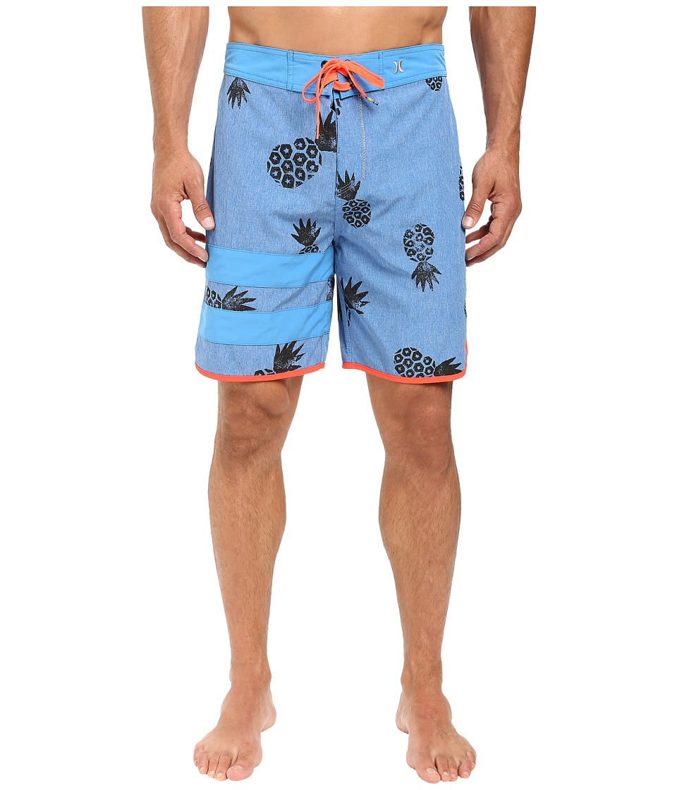 Hurley - Phantom Party Pina 19 Boardshorts (Star Blue) Men's Swimwear