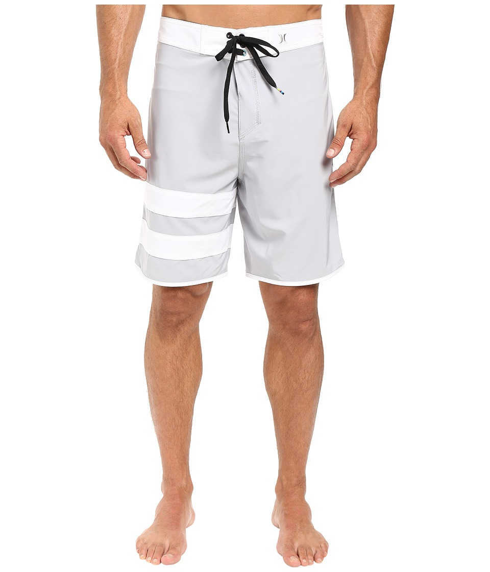 Hurley - Phantom 60 Block Party Boardshort (Wolf Grey) Men's Swimwear