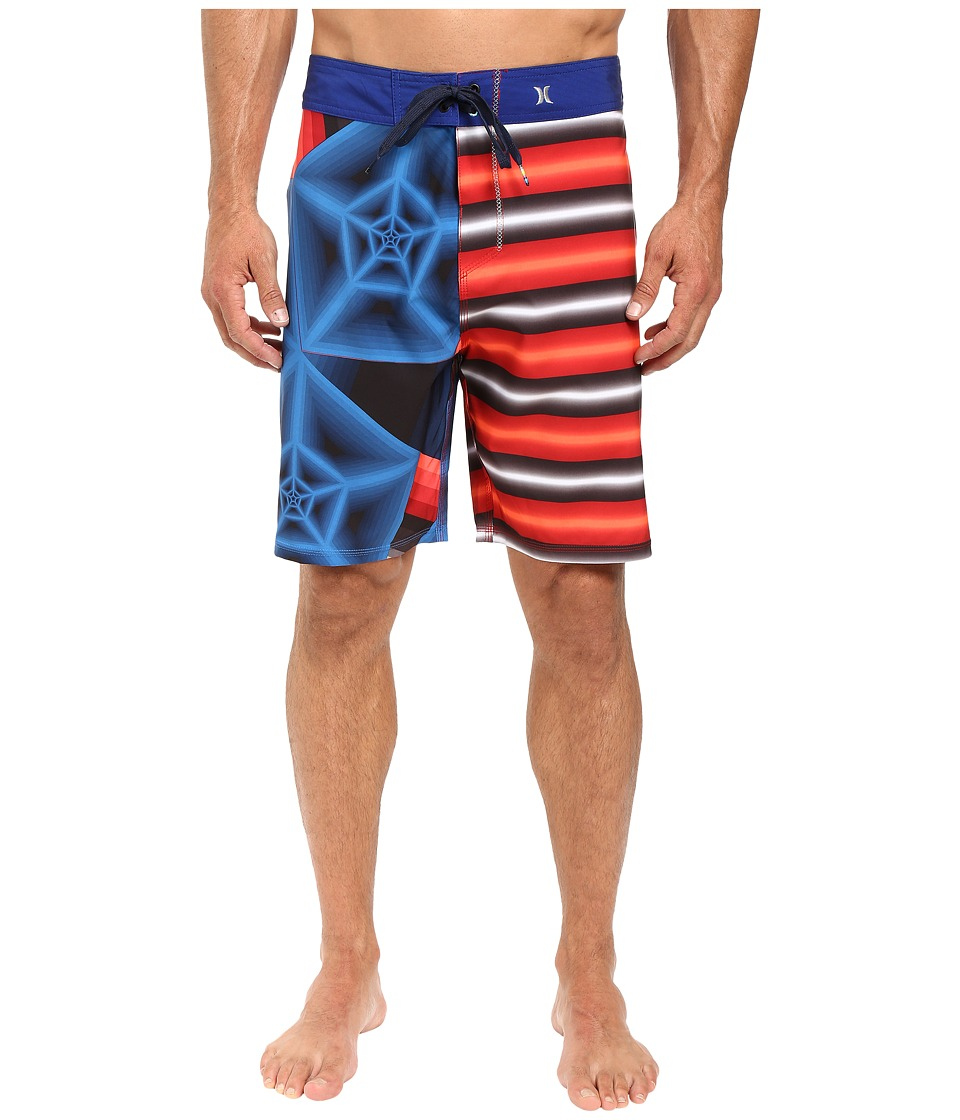 Hurley - Phantom Dalek 19 Boardshorts (Gym Red) Men's Swimwear