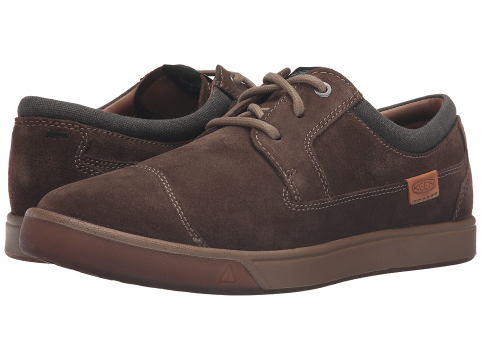 Keen - Glenhaven Suede (Cascade Brown) Men's Shoes