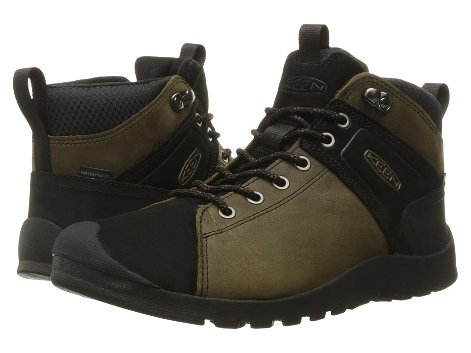 Keen - Citizen Keen Mid Waterproof (Canteen) Men's Waterproof Boots