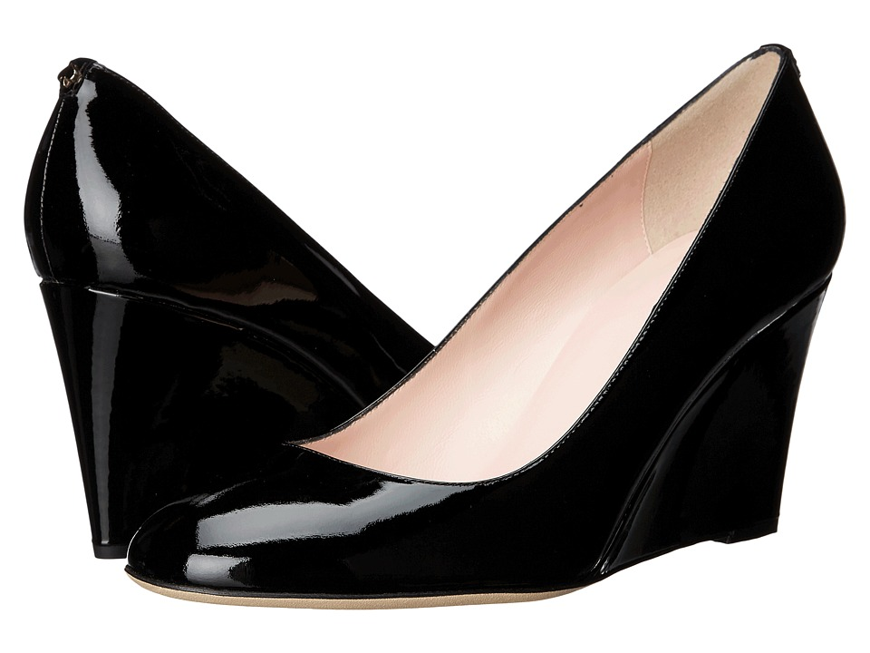 Kate Spade New York Amory (Black Patent) Women