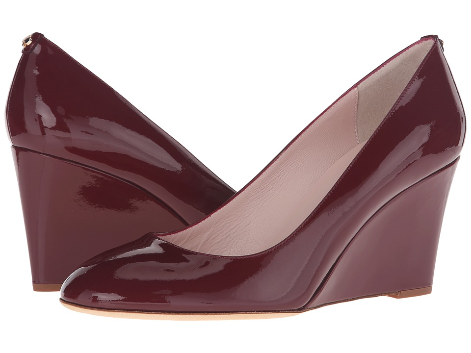 Kate Spade New York - Amory (Red Chestnut Patent) Women's Shoes