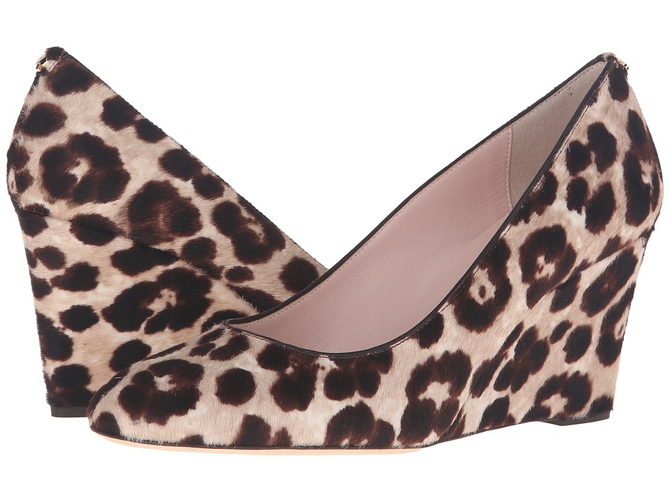 Kate Spade New York Amory (Blush/Brown Leopard Haircalf Print) Women