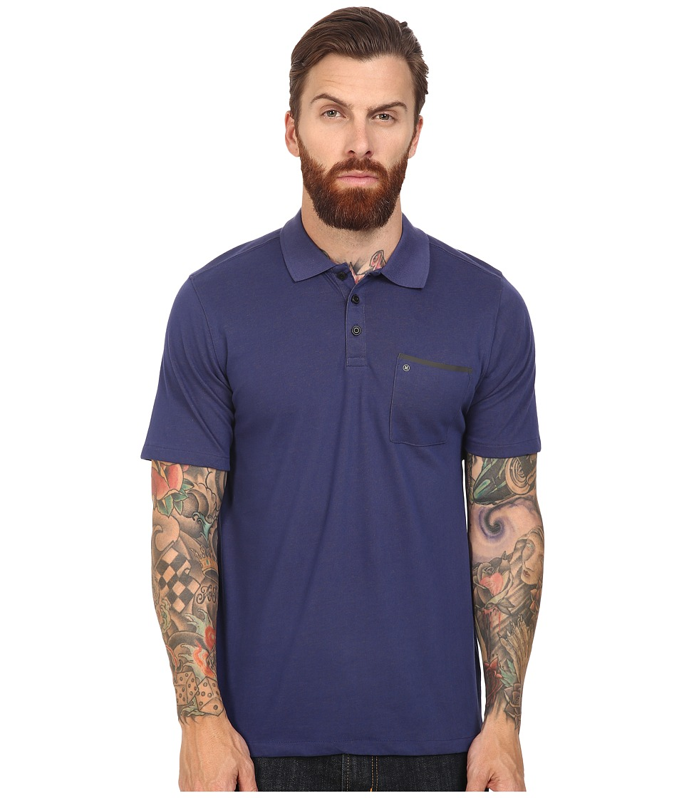 Hurley - Dri-Fit Lagos Polo (Loyal Blue) Men's Clothing