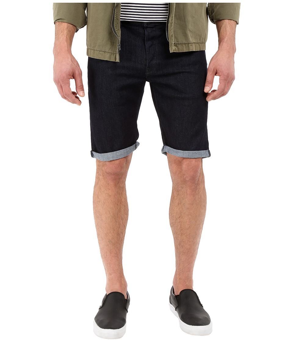 G-Star - 3301 Deconstructed Shorts in Binsk Superstretch Rinsed (Binsk Superstretch Rinsed) Men's Shorts