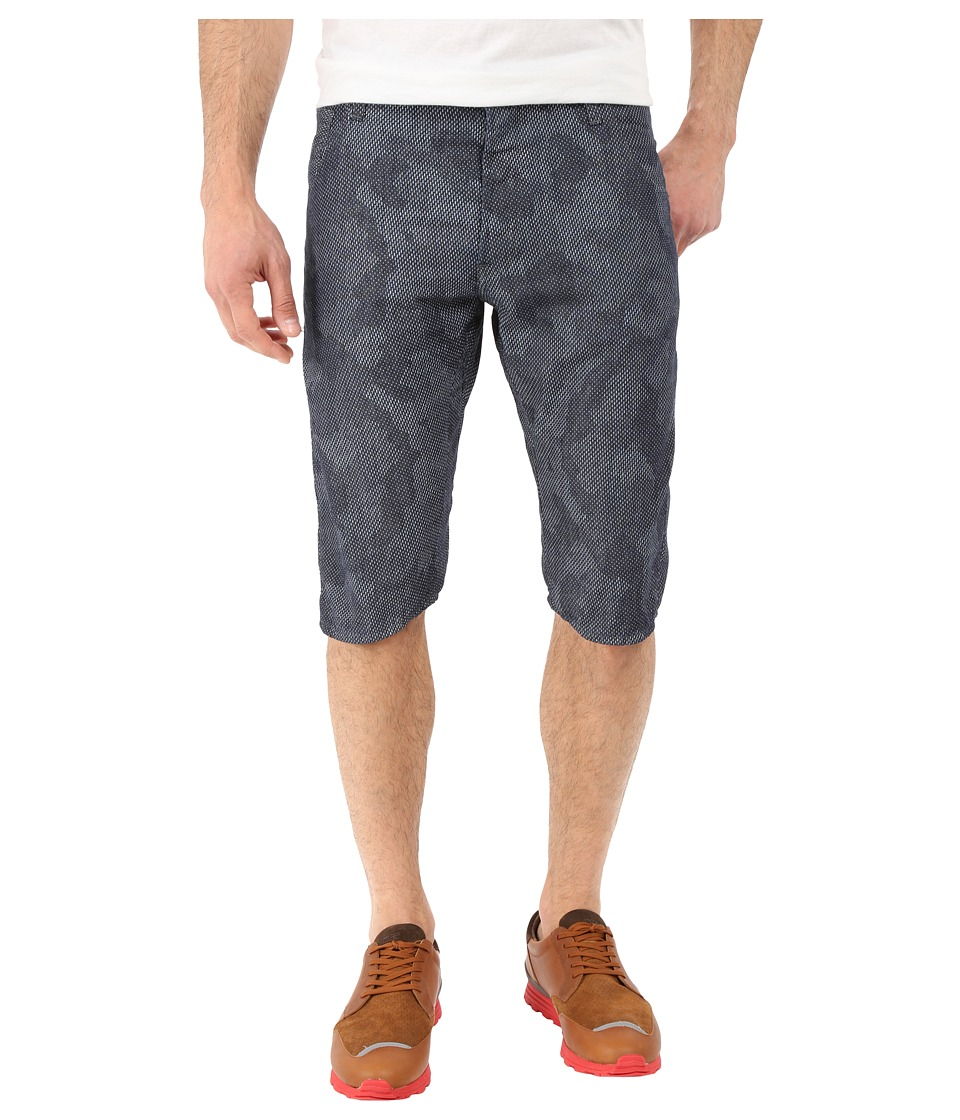 G-Star - Arc 3D Tapered Shorts in Lightweight Shatter Denim Rinsed/Milk Ao (Lightweight Shatter Denim Rinsed/Milk Ao) Men's Shorts