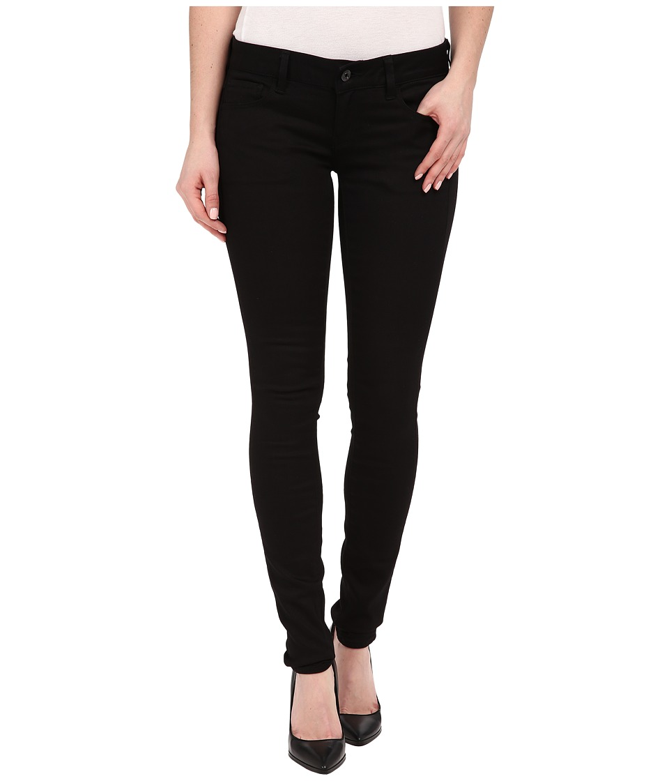 G-Star - 3301 Deconstructed Low Super Skinny Jeans in Cilex Black Superstretch Rinsed (Cilex Black Superstretch Rinsed) Women's Jeans